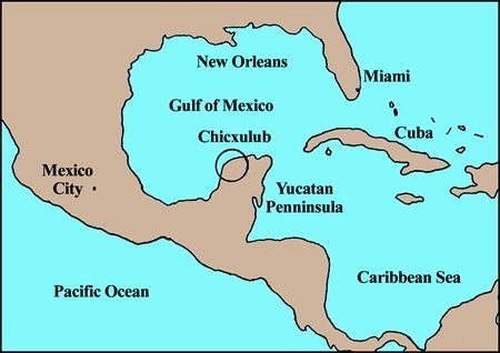 map of yucatan peninsula