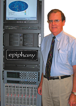 Dr. Baumgardner with Epiphany